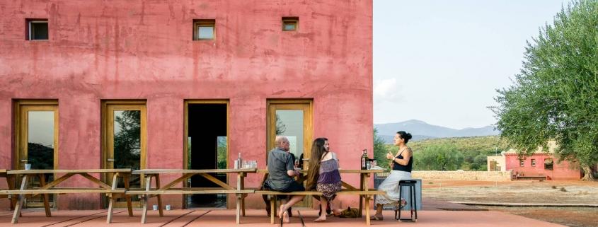 eumelia farm wine tasting