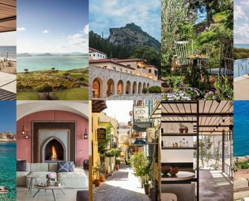 Conde Nast Traveller eumelia & Peloponnese top holiday destinations 2019