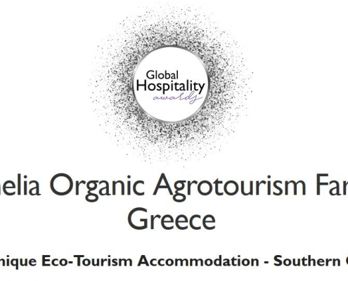 eumelia receives the Global Hospitality Award Most Unique Ecotourism Accommodation
